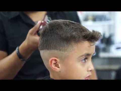 Kid Cuts - Hair Flip Mid-Fade tutorial