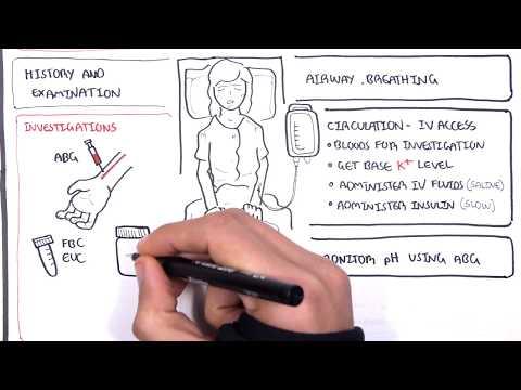 Diabetic Ketoacidosis (Diabetes Type I) Management Summary