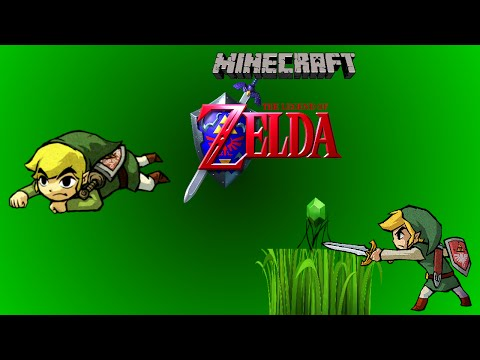 Zelda Style Crawling and Grass Slicing (for rupees) In Vanilla Minecraft!
