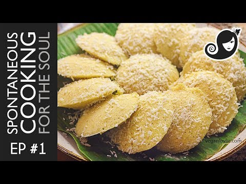 Spontaneous Cooking for the Soul Ep#1: Mauritian Idli [Vegan] - Sweet Semolina Steamed Cakes