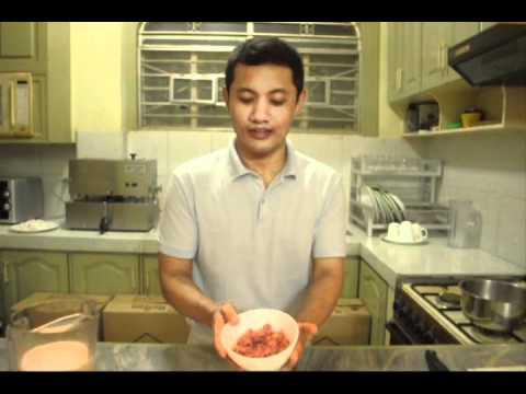 Ginataang Bagoong ( Shrimp paste in coconut milk)