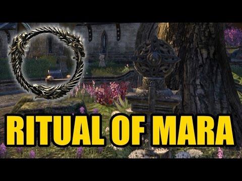 The Elder Scrolls Online - Ritual Of Mara Tutorial