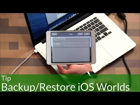 Spotlight: Backup and Restore Minecraft iOS Worlds