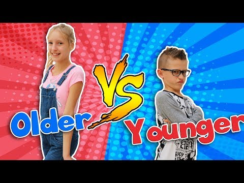OLDER SIBLING vs. YOUNGER SIBLING