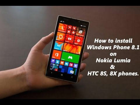 How to install Windows Phone 8.1 on Lumia 520 525 620 625 720 920 1020