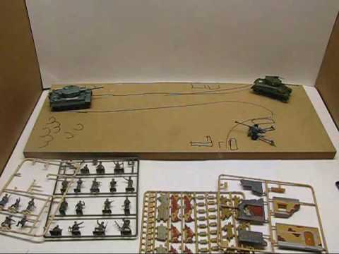 How to make a WW2 Diorama Part 1: The design and Layout of the Diorama