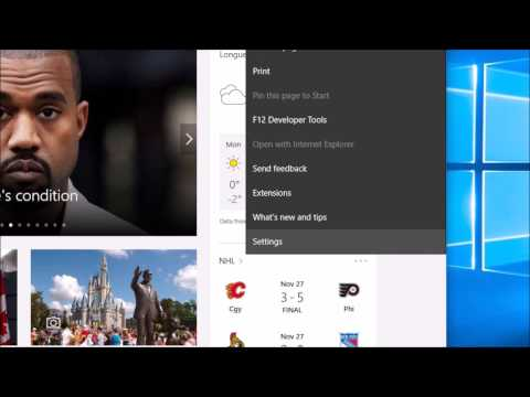 How to Change the Default Homepage and Search Engine in Microsoft Edge