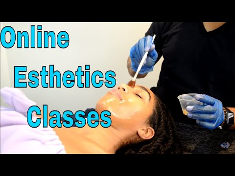 How to Apply a Chemical Peel, Online Class Tutorial on Youtube 2018