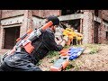 LTT Nerf War Two Police Mission Nerf Guns Seal X Attack Criminal Group Rescue Teammates