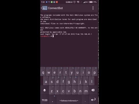 Remote Linux on Android using SSH