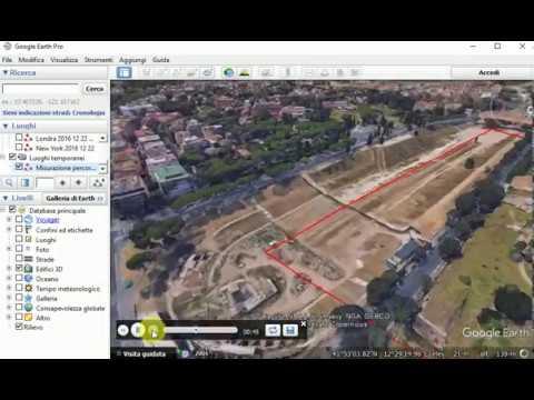 Google Earth Come creare un Tour da un percorso