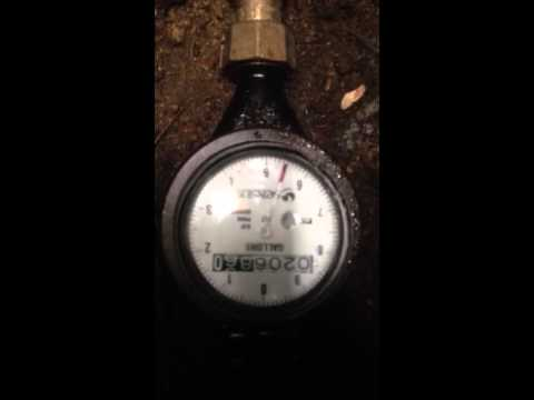 Water meter how to check for leaks