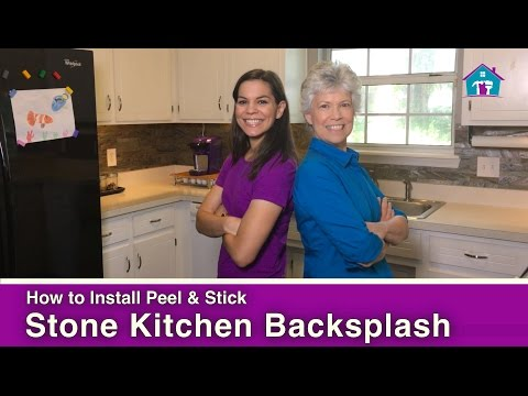 How to Install a Peel and Stick Tile Backsplash