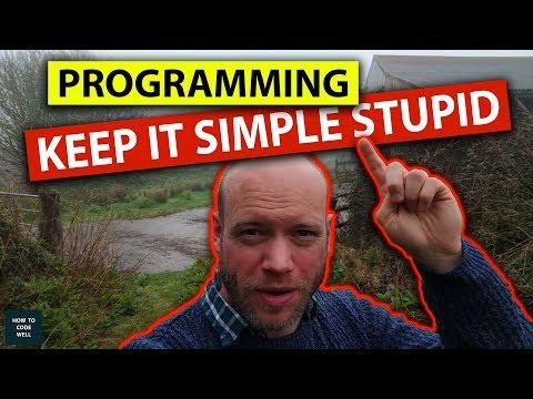 Web Development 2018 : Keep It Simple Stupid (KISS)