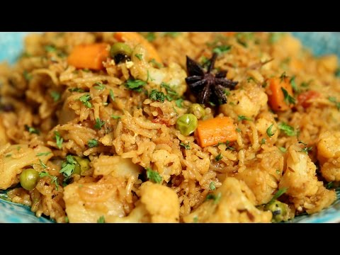 Vegetable Tehri | Easy To Make One Pot Rice Dish - Indian Delicacy | Ruchi's Kitchen