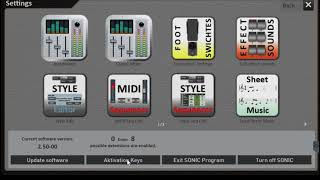 Wersi Sonic OAX Styles, MIDI and Audio Files - Part 3 - PakVim net