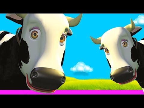Cow's Songs Mix - The Farm's songs for kids, Children's music