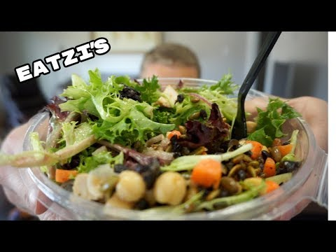 Eatzi's Pasta and Salad - Some Words of Wisdom - Mukbang and eating show