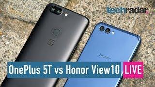 OnePlus 5T vs Honor View10 camera comparison LIVE