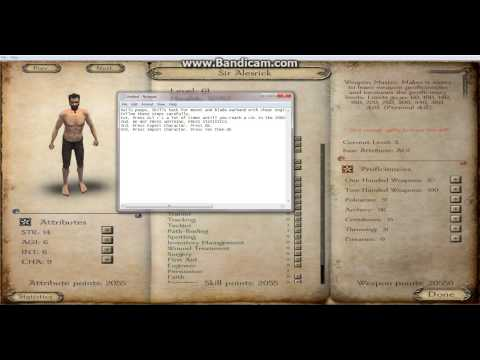 Mount & Blade: Warband Skills Hack Cheat Engine 6.3