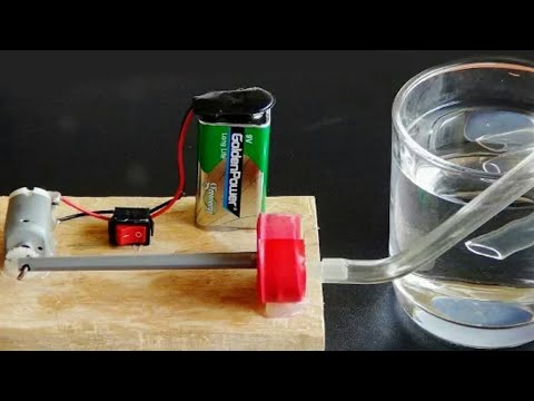 How to make aeration machine bubbles for fish tank