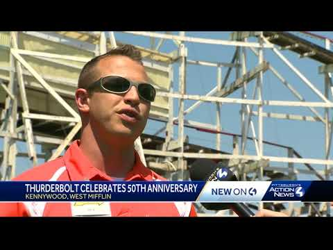 Happy anniversary, Thunderbolt! 50 years and still going strong at Kennywood
