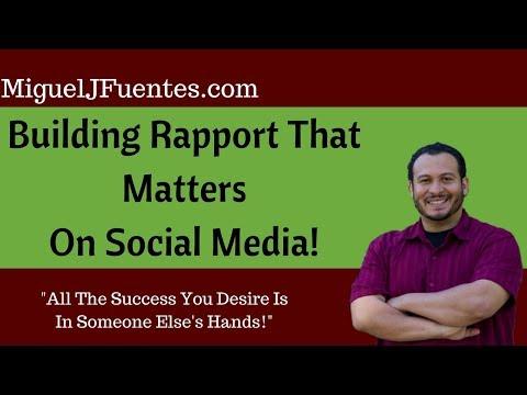 Successfully Building Rapport On Social Media