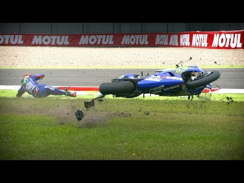 Watch the best crashes from the 2017 MotoGP™ season!