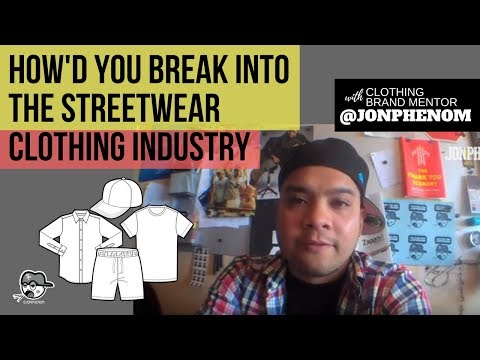 HOW'D YOU BREAK INTO THE STREETWEAR CLOTHING INDUSTRY? [Q+A #1]