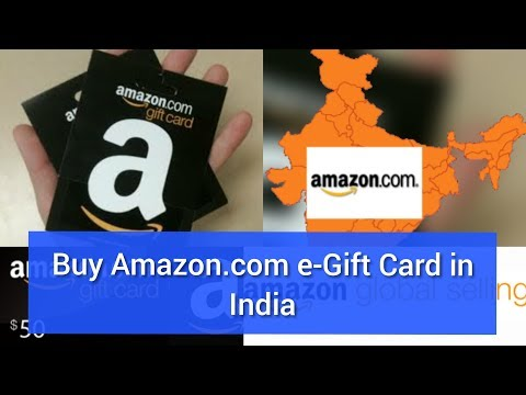 Buy Amazon.com e-Gift Cards in India