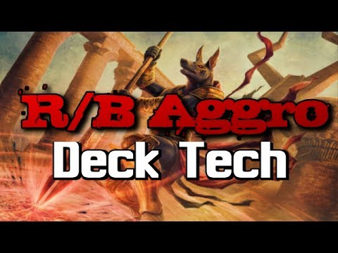 Mtg Deck Tech: R/B Aggro in Hour of Devastation Standard!