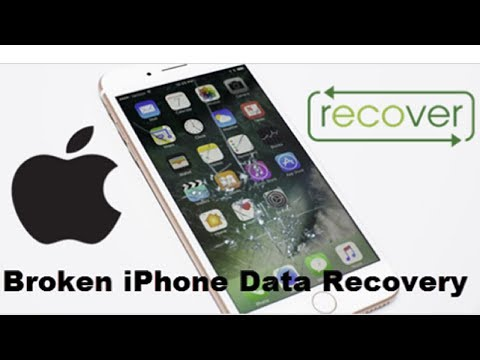 How to Recover Data From Broken iPhone | Photos | 2018 |
