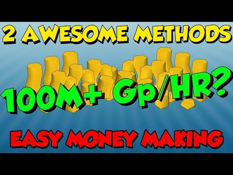 (April 1st) 100M+ GP/HR!? Money Making Guide [Runescape 3] 2 Easy Methods!