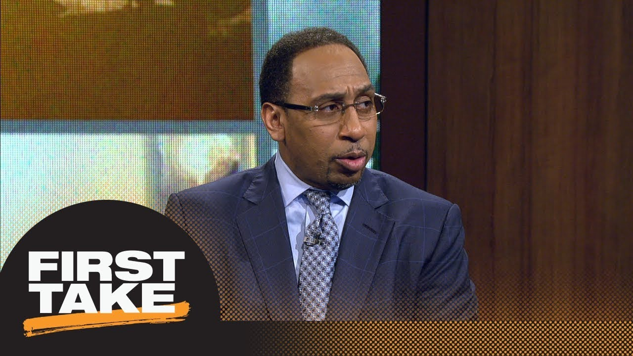 Stephen A. Smith on Hassan Whiteside: He was a 'disgrace' in 76ers-Heat series   First Take   ESPN