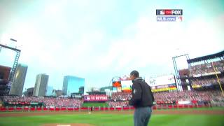 President Obama at the MLB All-Star Game