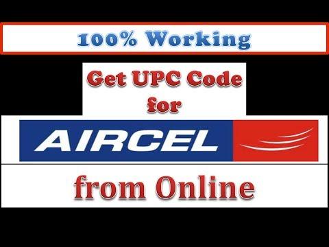 Aircel UPC Code Online/Aircel Port number/Online UPC Code/Aircel online Portability/aircel to airtel