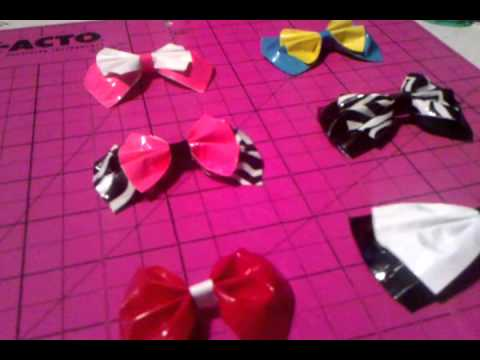 Duct tape bows for sale