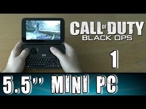 1# GPD Win Call of Duty: Black Ops World's Smallest Portable Handheld Gaming Mini PC UMPC X7 Z8700