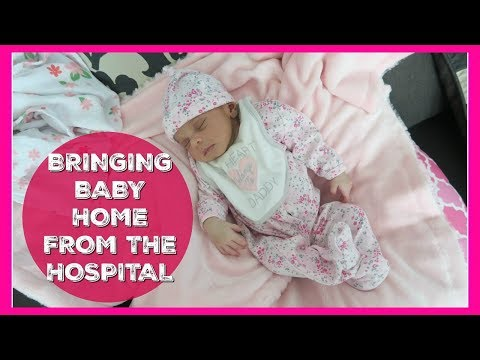 Bringing Baby Home from the Hospital | FLASHBACK FRIDAY