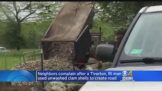 tiverton ri residents fighting back against clam shell stench
