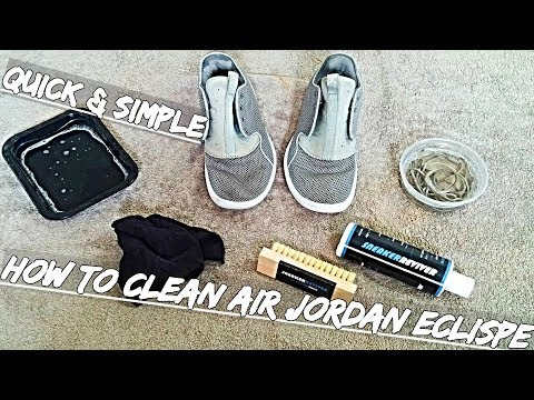 How To Clean Air Jordan Eclipse Quick & Simple | Sneaker Reviver