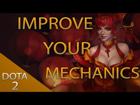Improve your DOTA2 Mechanics #6 - Creep Equilibrium, Last Hitting and the Shadow Fiend Challenge