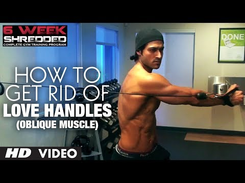 How to Get Rid of Love Handles: Oblique Muscle - Guru Mann | Health and Fitness