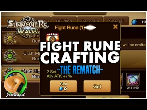 SUMMONERS WAR : Alright Fight Runes, we're trying this again...