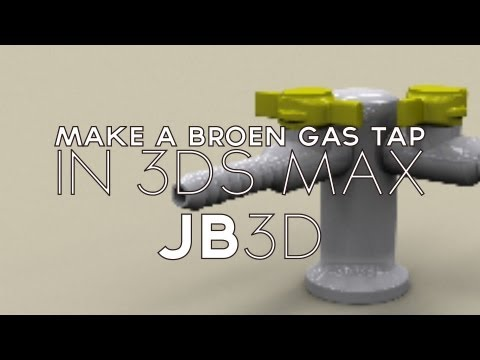 TUTORIAL | How to model a Gas Tap | 3DS MAX