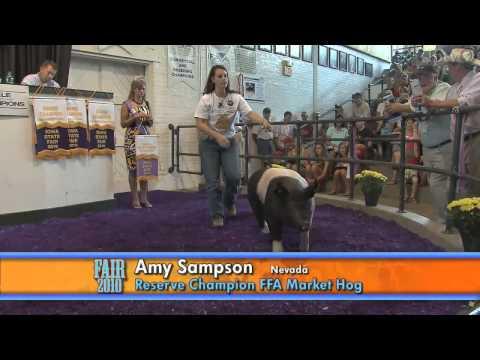 4-H & FFA Sale of Champions - Iowa State Fair 2010