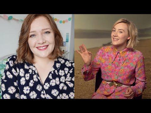 😍 I Interviewed Saoirse Ronan!   On Chesil Beach, Favourite Books & Hamilton