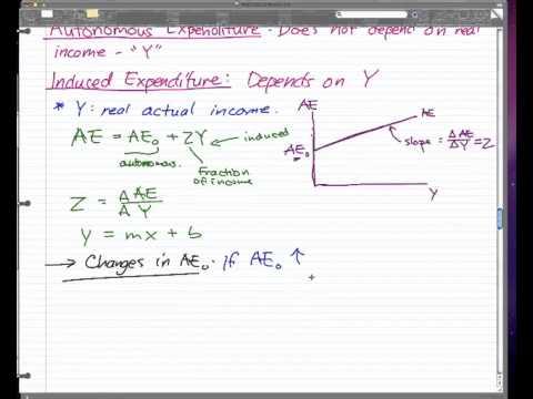 Macroeconomics - 10: Aggregate Expenditure (AE) Model