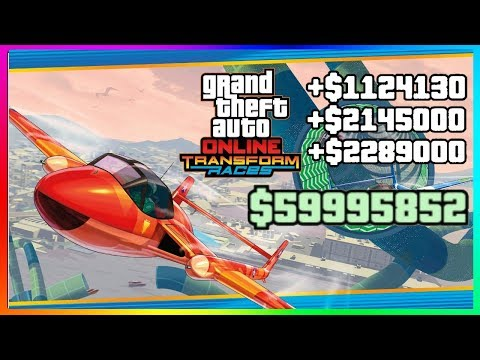 How To Make The MOST MONEY Solo In GTA 5 Online New Races | NEW Best Unlimited Money Guide/Method