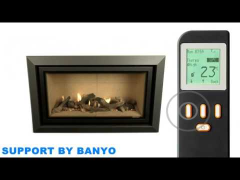How to use the Thermostatic Remote Control for your Gazco Fire or Stove